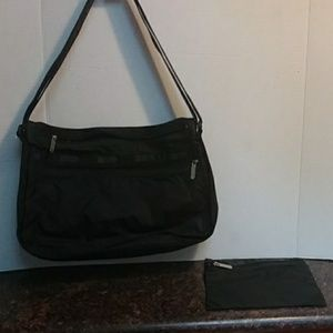 La Sport Sac  Purse and Matching Cosmetic Bags